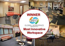 OffiCenters GWA Most Innovative Workspace Award Winner