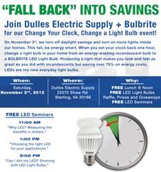 Daylight Savings Event w/Bulbrite