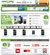 Screenshot of CompareMyMobile's homepage