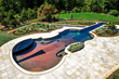 Glass Tile Swimming Pool Design & Installation. Bergen County NJ