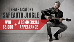 Create a catchy jingle and win $5,000 and a commercial appearance!
