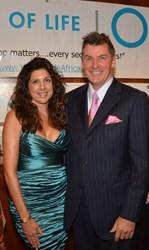 Michelle Yegsigian, Board Member and Nick Jordan, President of Wells of Life.