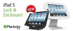 Maclocks iPad 5 Lock- iPad 5 Enclosure- iPad 5 Stand
