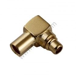 MMCX Male Right angle Crimp For RG405 PCB RF Connector