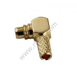 MMCX Male Right angle Crimp For RG316 PCB RF Connector