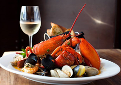 Holiday gift certificates for Maine seafood delivery