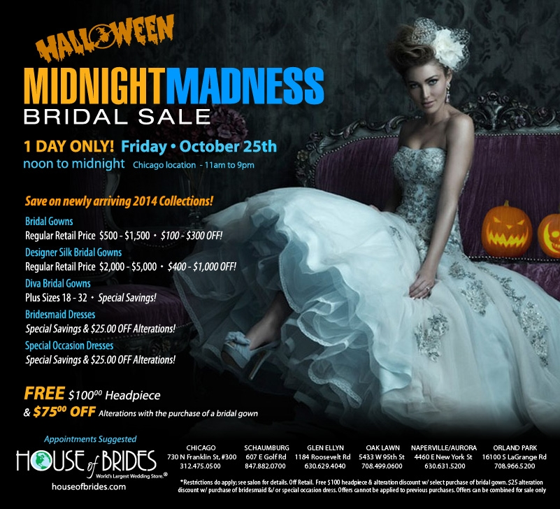House of Brides Midnight Madness