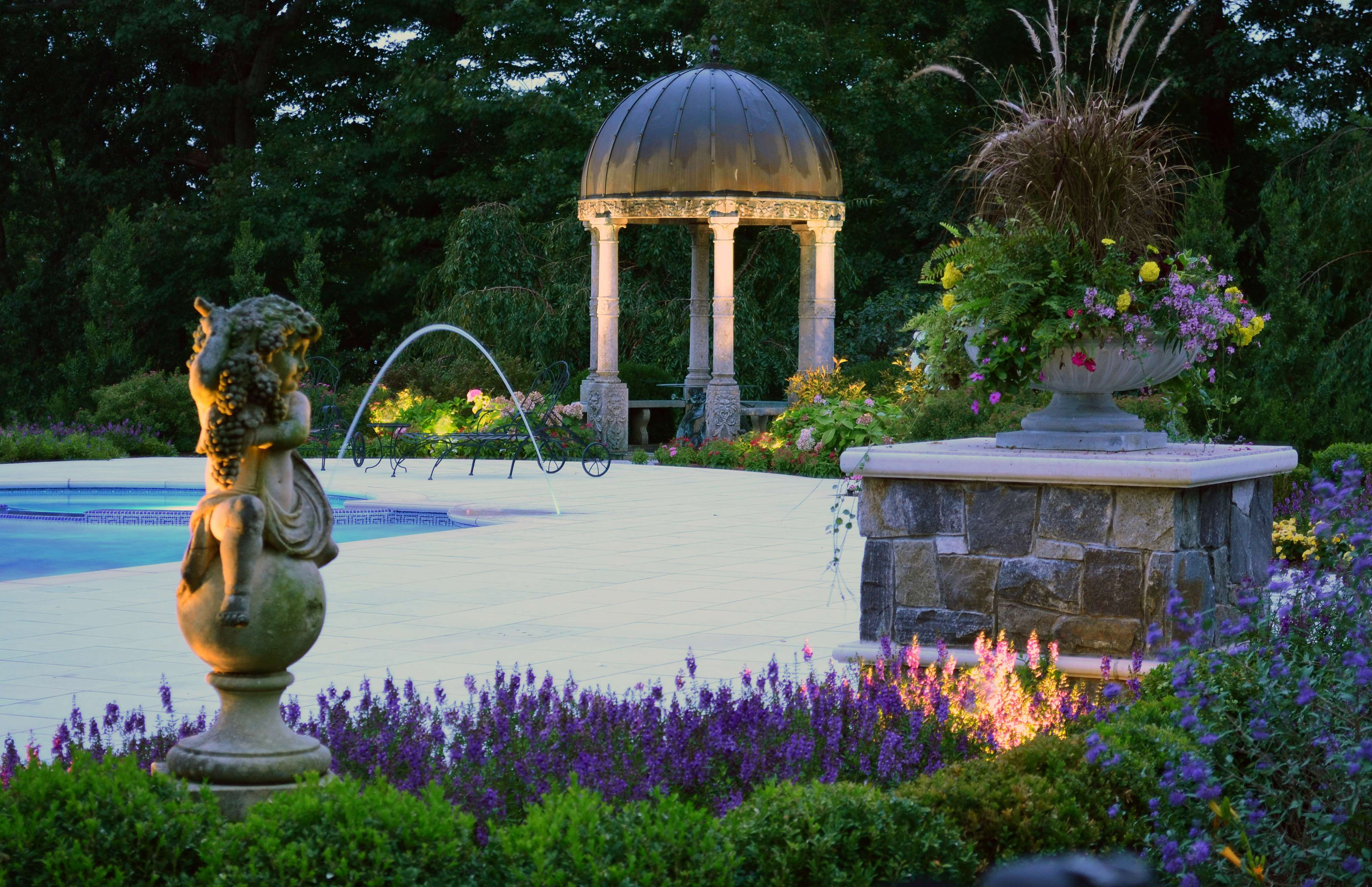 swimming pool landscaping ideas bergen county northern njaward winning swimming pool landscaping ideas by cipriano landscape design bergen county northern - Pool Landscaping