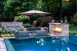 Modern Swimming Pool landscaping Ideas Bergen County Northern NJ 6