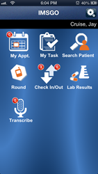 IMSGo Mobile EHR App