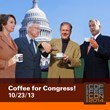 Kevin Sinnott, The Real Mr. Coffee, Goes to Washington