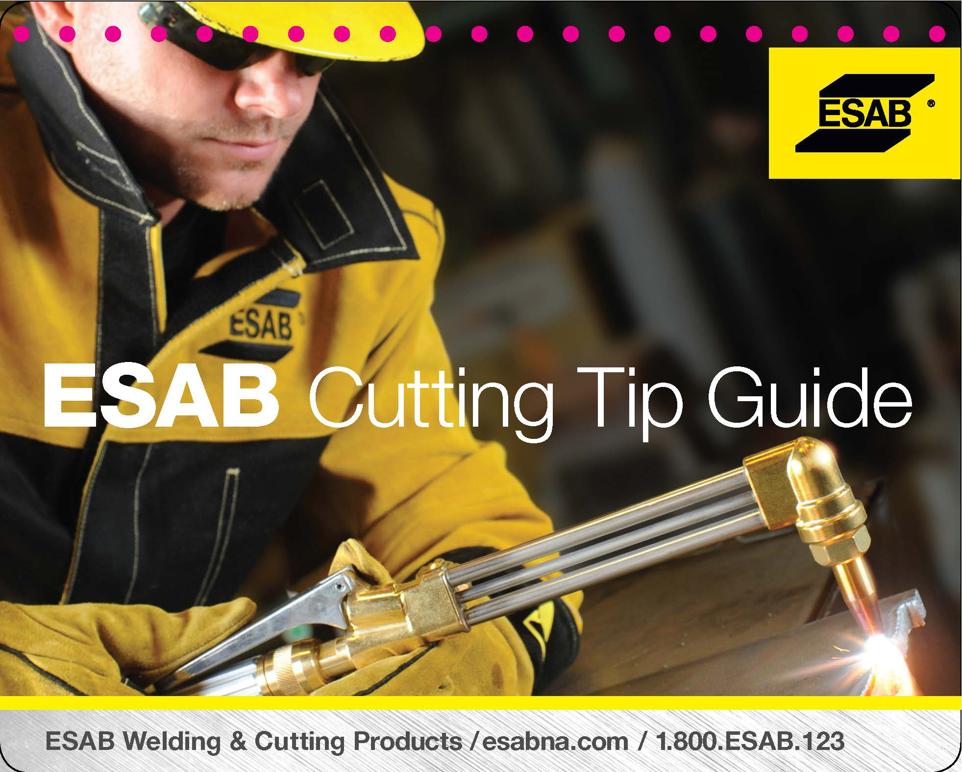 Esab Offers New Quick Reference Guide For Cutting Tip Selection