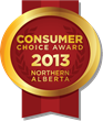 2013/2014 Northern Alberta Consumer Choice Award Winners