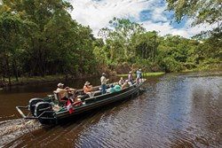 Amazon excursion boat