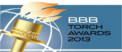 KMG Gold Recycling Wins 2013 BBB Torch Award for Marketplace Excellence
