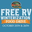 Local RV Dealership Offers RV Winterizations with Donation to Food Bank