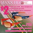Maxx HD Sunglasses Announces its Partnership with the National Breast...