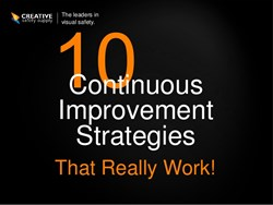 10 Continuous Improvement Strategies