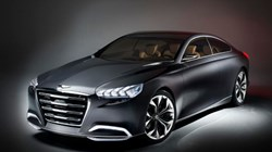 Hyundai HCD-14 Genesis Concept Vehicle
