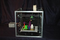 Asterid open source 3D printer