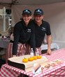 Exhibitors at Taste of DC Show Off Their Food, Smiles, and OwnerListens Signage!