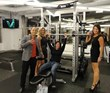 Body By Vi Champions in the employee gym at the Visalus Corporate offices.