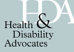 Health & Disability Advocates' Logo