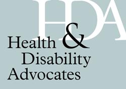Health & Disability Advocates' Logo