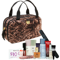 Jane Mayle's Ava Bag in Tigermilk Print is now available exclusively on Beauty.com