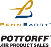 PennBarry and Pottorff Air Product Sales Logos