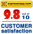 Expresscopy.com Postcards Rated 9.8 Out of 10 by Reseller Rating...