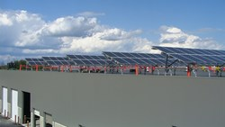 The New Solar Power Array at Powers Distributing Inc.