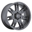 Mickey Thompson Sidebiter II Matte Black Wheel