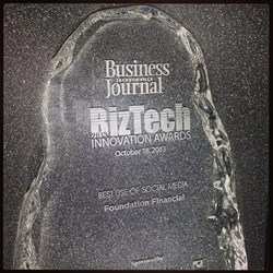 Foundation Financial Group Enjoys the Business Community Camaraderie at JBJ BizTech Awards and Expo