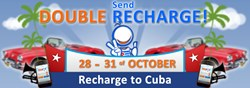 Double Cubacel - international mobile recharges