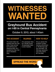 Greyhound Crash Witness Hotline