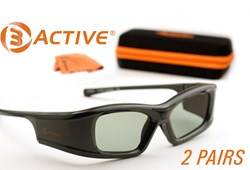 Epson Projector 3D Glasses by 3ACTIVE®
