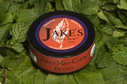 jake's mint chew brandy non-tobacco