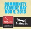 Real Living Lifestyles Partners with Move For Hunger to Organize Huge...