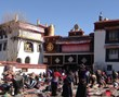 In winter, the sacred Jokhang Temple embraces more pilgrims than usual as it is the slack farming season in Tibet.