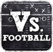 Vs Football Logo - by Engage Mobile