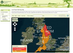 FloodAlerts flood mapping system