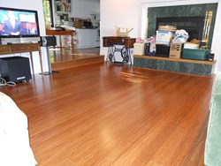 simpleFLOORS' sustainable strand woven bamboo flooring