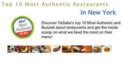 YaSabe's Top 10 Most Authentic Restaurants in NYC!