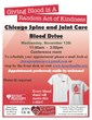 Chicago Chiropractor - Chicago Spine and Joint Care Blood Drive Flyer