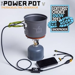 PowerPot received the 2013 Editor's Choice Snow Award