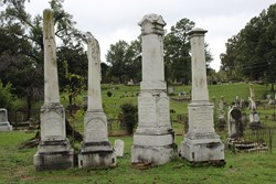 Oakland Cemetery in Shreveport, LA