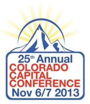2013 Colorado Capital Conference