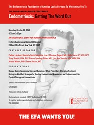 Third Annual Nurses Conference - Endometriosis: Getting The Word Out