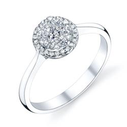 Coronet Diamond Itzamna Ring 1/3ctw